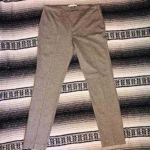 CAbi side zipper taylored leggings. Size 4